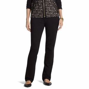 Chicos Zenergy | Knit Collection Pant Lounge Black